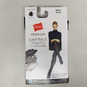Hanes Accessories - Hanes Premium Women's Perfect Opaque Tights Black